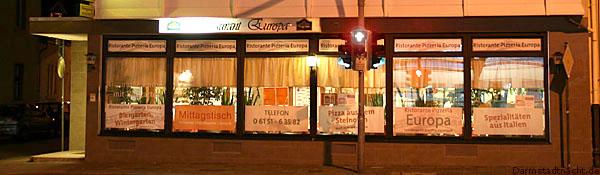 Pizzeria Europa - Steinofen Pizza in Darmstadt